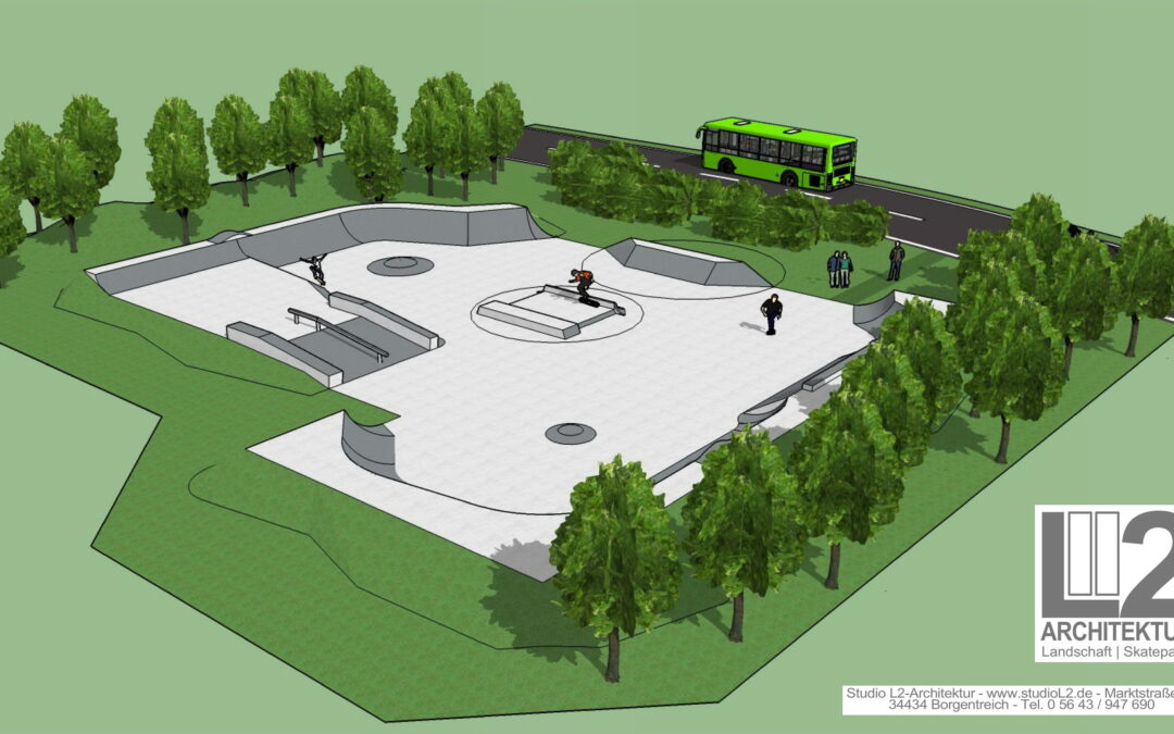 Aktueller Stand Neubau Skatepark